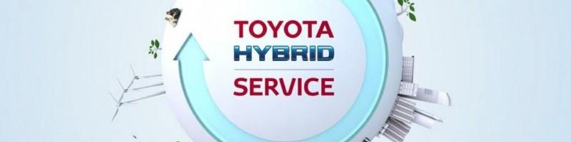 TOYOTA Hybrid Service Check