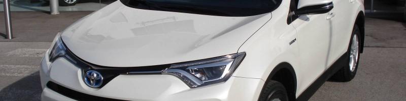 Rav4 Hybrid Frontansicht