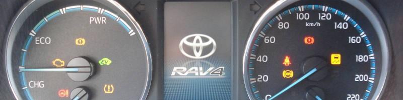 Fahrerinformationssystem Rav4 Hybrid
