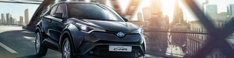 Der neue Toyota C-HR.